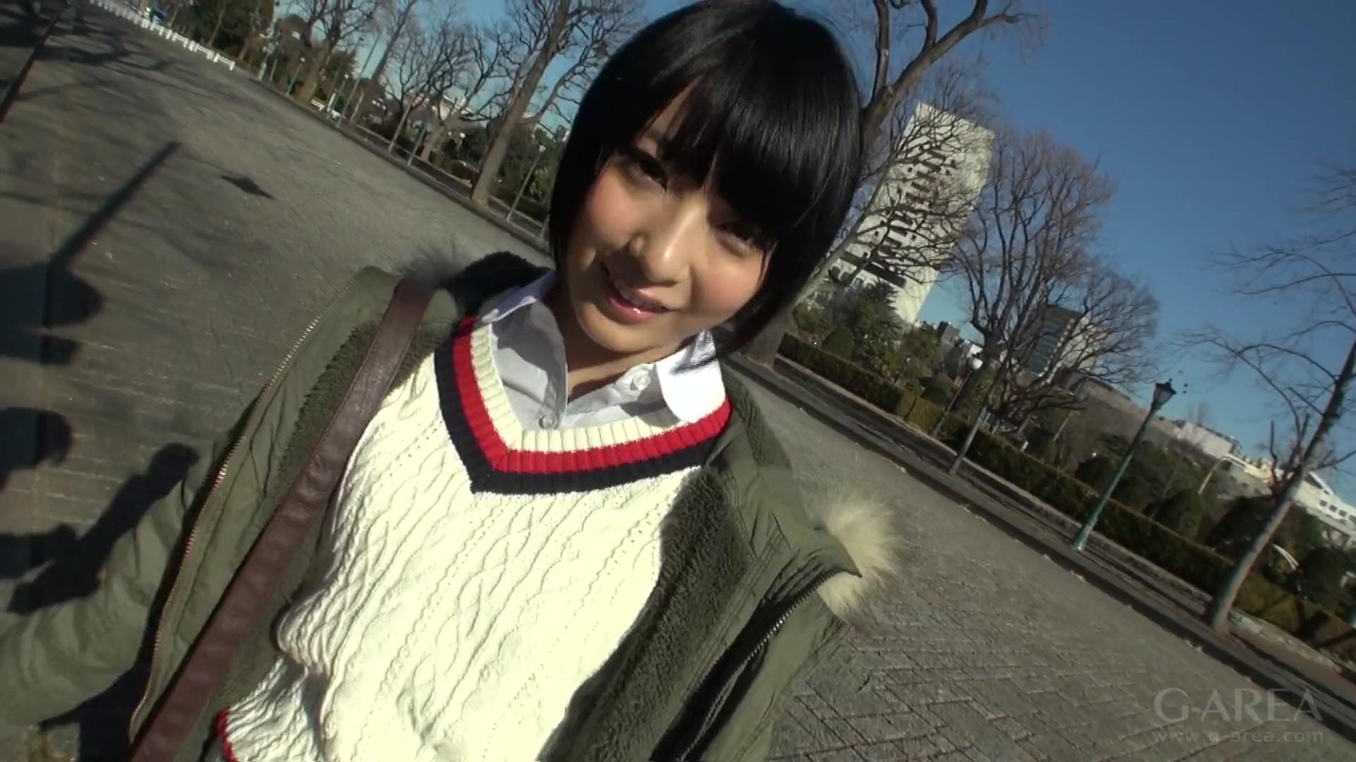 【素人エロ動画】ショートカットの可愛い美少女とハメ撮り!