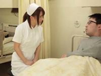 「ちょ…だめですぅ」ロリカワなナースが患者達に連続で生チンポをハメられる