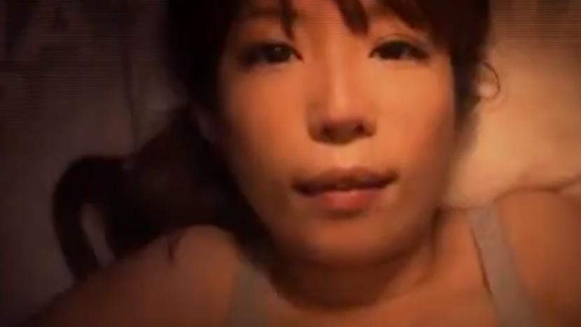 「おっぱい…好きにして?」寝ている巨乳娘を夜這いして乳マンコにスペルマ中出し