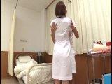 白衣姿の美少女ナースが患者のチンポでアヘイキ昇天