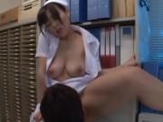 清楚な院内でも人気のナースが隠し持つ淫乱性癖