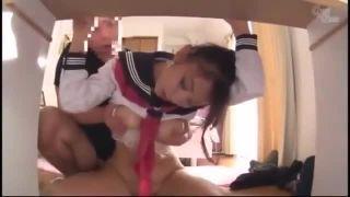 美少女JKが欲情した変態家庭教師に襲われて強制中出しパコ