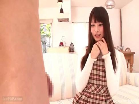 【咲田ありな】ウルトラ級!! ロリ系巨乳美少女にフェラチオしてもらった