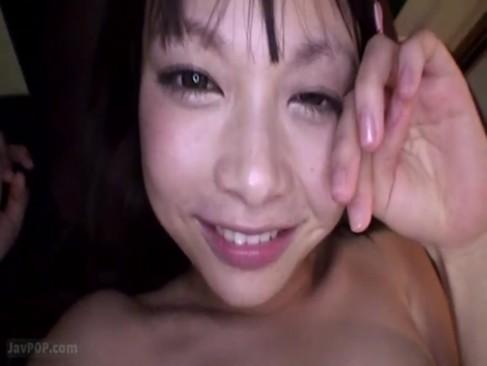 【咲田ありな】前髪パッツンの激カワ美少女が、紅潮した華奢な身体をビクンビクン痙攣イキしちゃうハメ撮り顔射セックス!