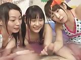 浴衣姿のJC・JKが恥ずかしいパイパン撮影されちゃうの校生系動画
