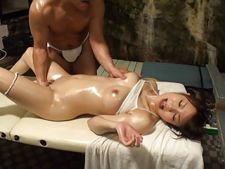 Cute Japanese Massage Orgasm Pussy Creampie