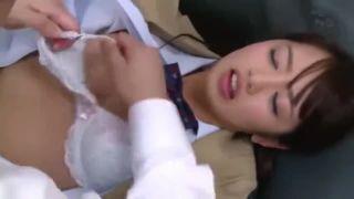 《睡眠JK》童顔おさげの地味な女子校生が図書館で教師に舐められまくって…【美咲かんな】