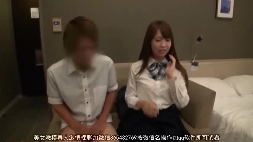 今どきの女子高生がデカチンをしゃぶらされるイマラチオの校生系動画