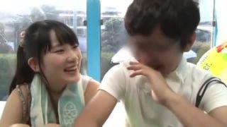 清純な優等生女子校生がデカチンに跨って腰振りに夢中の美少女動画