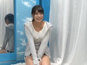 【マジックミラー号】部屋着姿の可愛い巨乳女子大生と、即パコしちゃう!