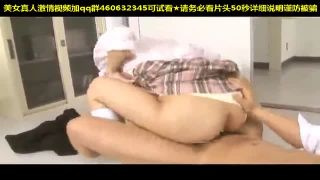 黒パンストのJKがナースの生足をエロ顔で舐め回すの学生系動画