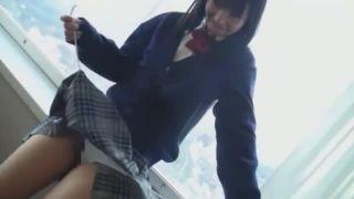 【JKエロ動画】JKのコスプレした美少女とハメ撮り!