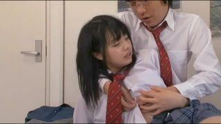 ビッチなJKが温泉で変態父親とまんことチンポを舐め合うの校生系動画