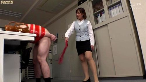 女が男を食らう!ド痴女が社内で男を拘束してヤリタイ放題w