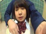 犯される女子校生がマングリ返しで可愛いパンティ披露の美少女動画