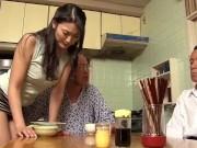 【竹内紗里奈】高齢の義父を叱りつける鬼嫁だが…老練な義父に敏感体質を突かれ性奉仕をさせられる
