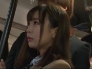 【痴漢】パンスト童顔ロリ系女子校生が気持ちいいコトしちゃう