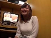 【ハメ撮り】AV初体験の素人巨乳娘がフェラも種付けセクロスもする動画【柳川まこ】