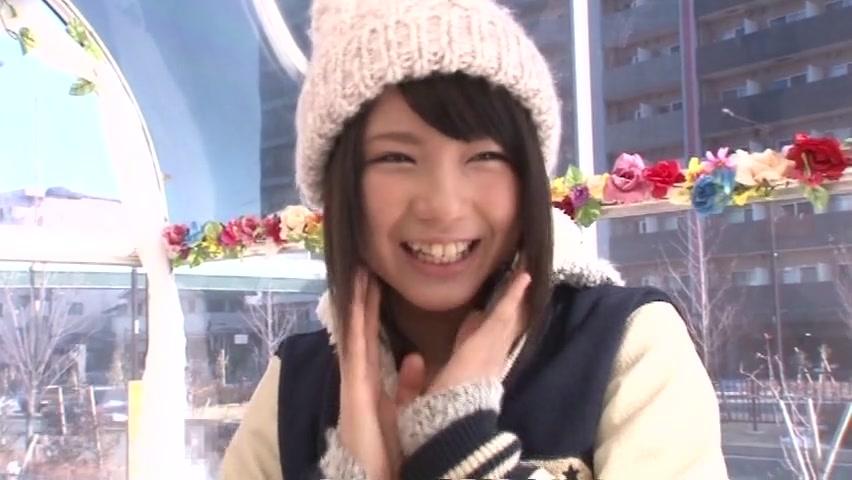 オシャレでノリも可愛い素人美少女がMM号に!