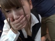 ソムリエ見習いのお姉さんが店内でイカされる!